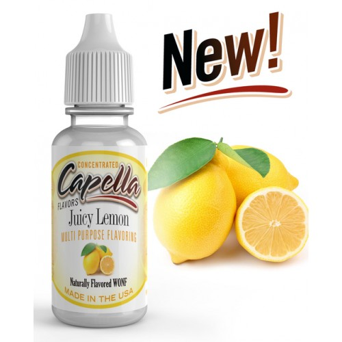 13 ml Capella Juicy Lemon