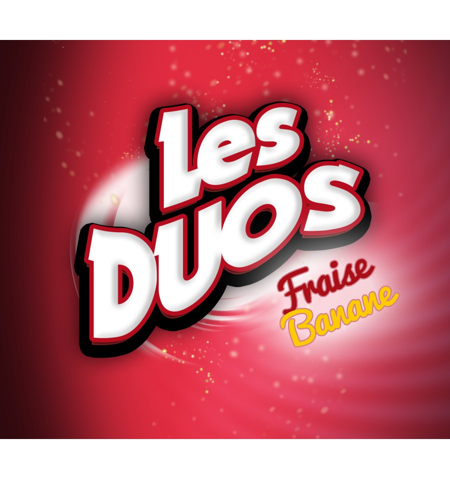 10 ml Les Duos Strawberry & Banana