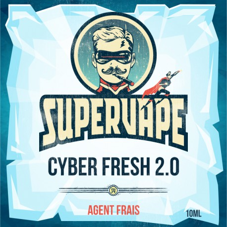 10 ml Supervape Cyber Fresh 2.0