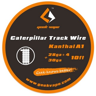 GeekVape Kanthal A1 Caterpillar Track Wire - 1 m