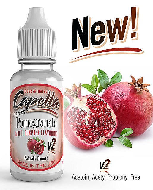 13 ml Capella Pomegranate V2