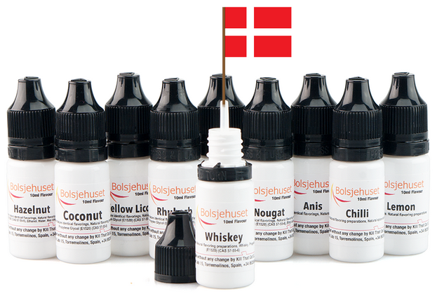 1,5 ml Bolsjehuset - Red berries Dessert