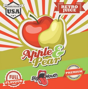 1,5 ml Big Mouth Apple & Pear