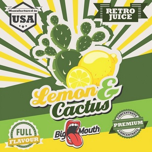 1,5 ml Big Mouth Lemon & Cactus
