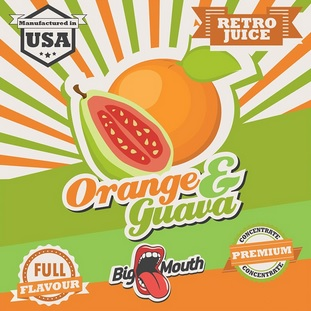 1,5 ml Big Mouth Orange & Guava