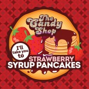 1,5 ml Big Mouth Strawberry Syrup Pancakes