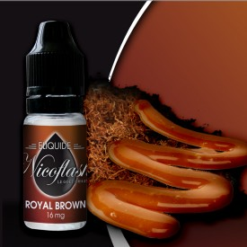 10 ml Nicoflash - Royal Brown 11 mg/ml