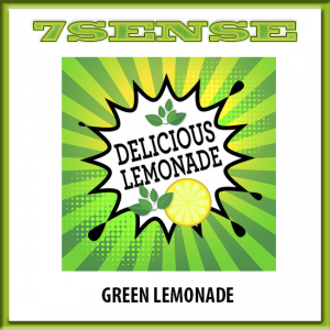 10 ml 7 Sense - Green Lemonade