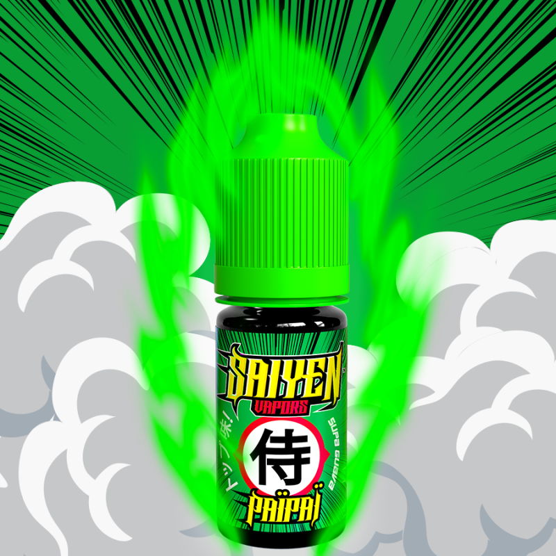 10 ml Saiyen Vapors - PAIPAI 6 mg/ml