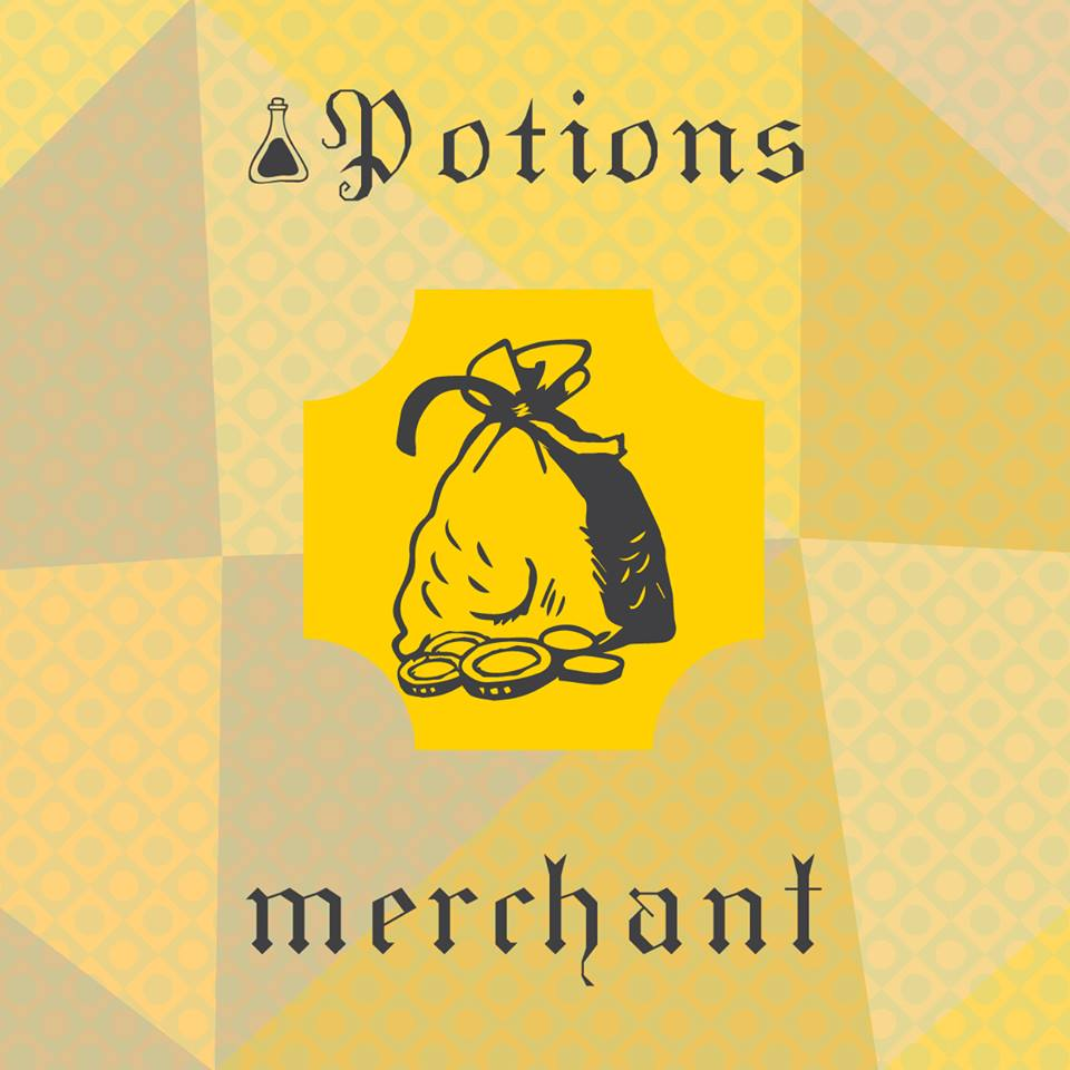 10 ml Potions - Merchant