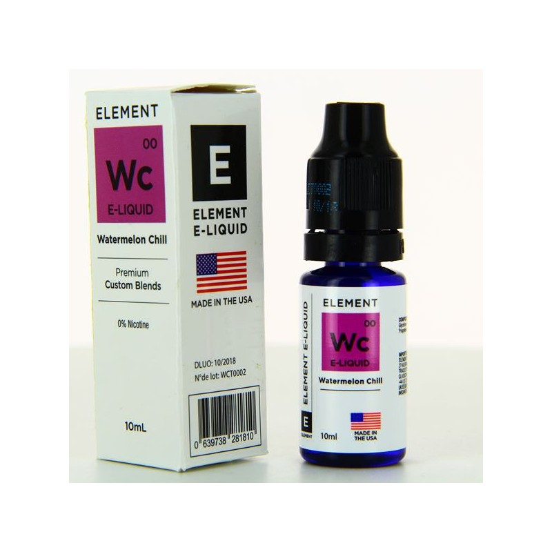 10 ml Element  - Watermelon Chill 6 mg/ml