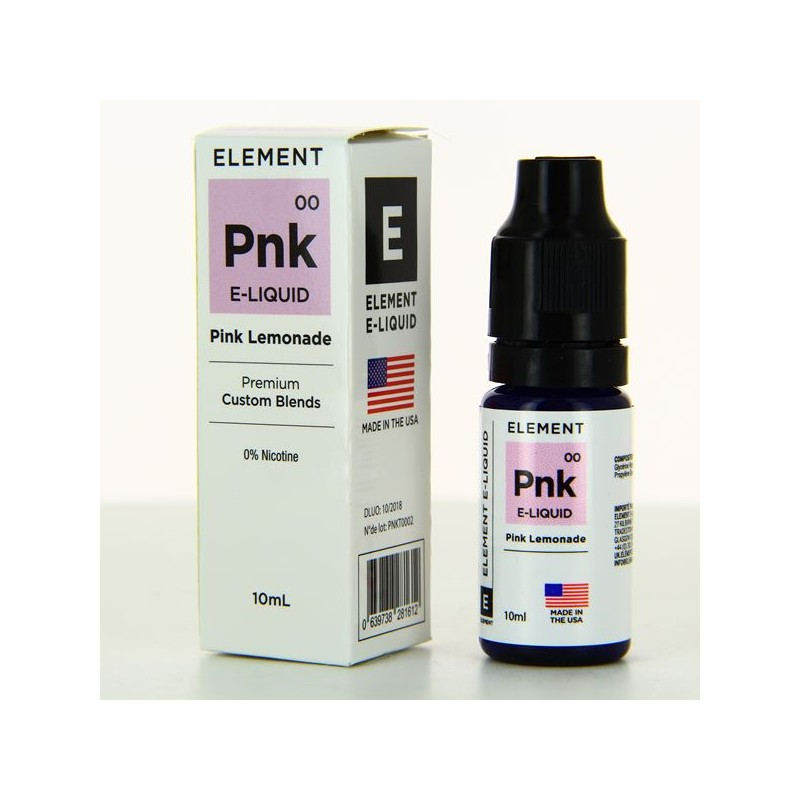 10 ml Element  - Pink Lemonade 0 mg/ml