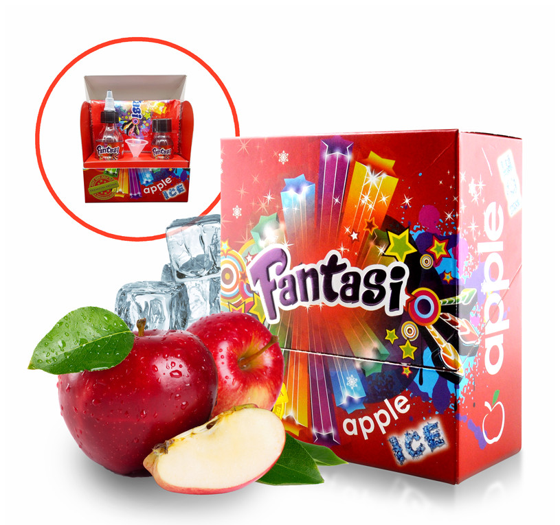 30 ml Fantasi Shake'n'Vape - Apple Ice