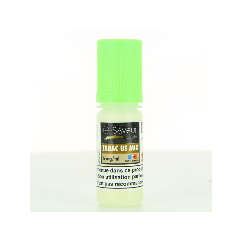 10 ml E Saveur - Classic Mix US 6 mg/ml
