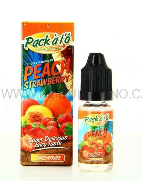 10 ml Pack a lO - Peach Strawberry