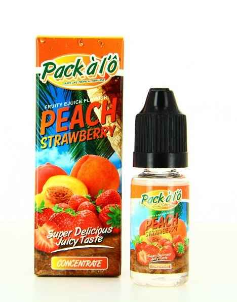 10 ml Pack á l'Ô - Peach Strawberry