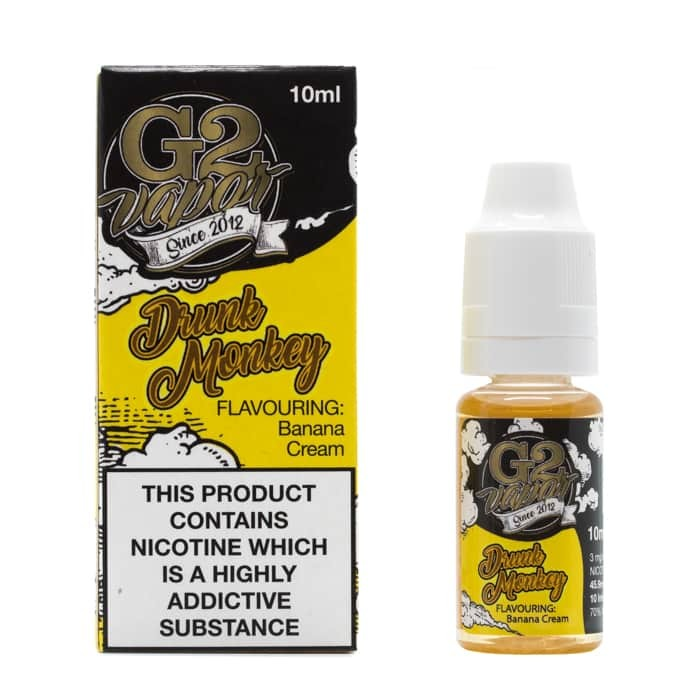 10 ml G2 Vapor Prime - Drunk Monkey 3 mg/ml - SLEVA