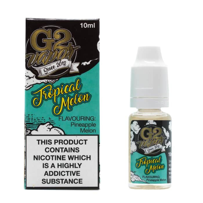 10 ml G2 Vapor - Tropical Melon 6 mg/ml - SLEVA