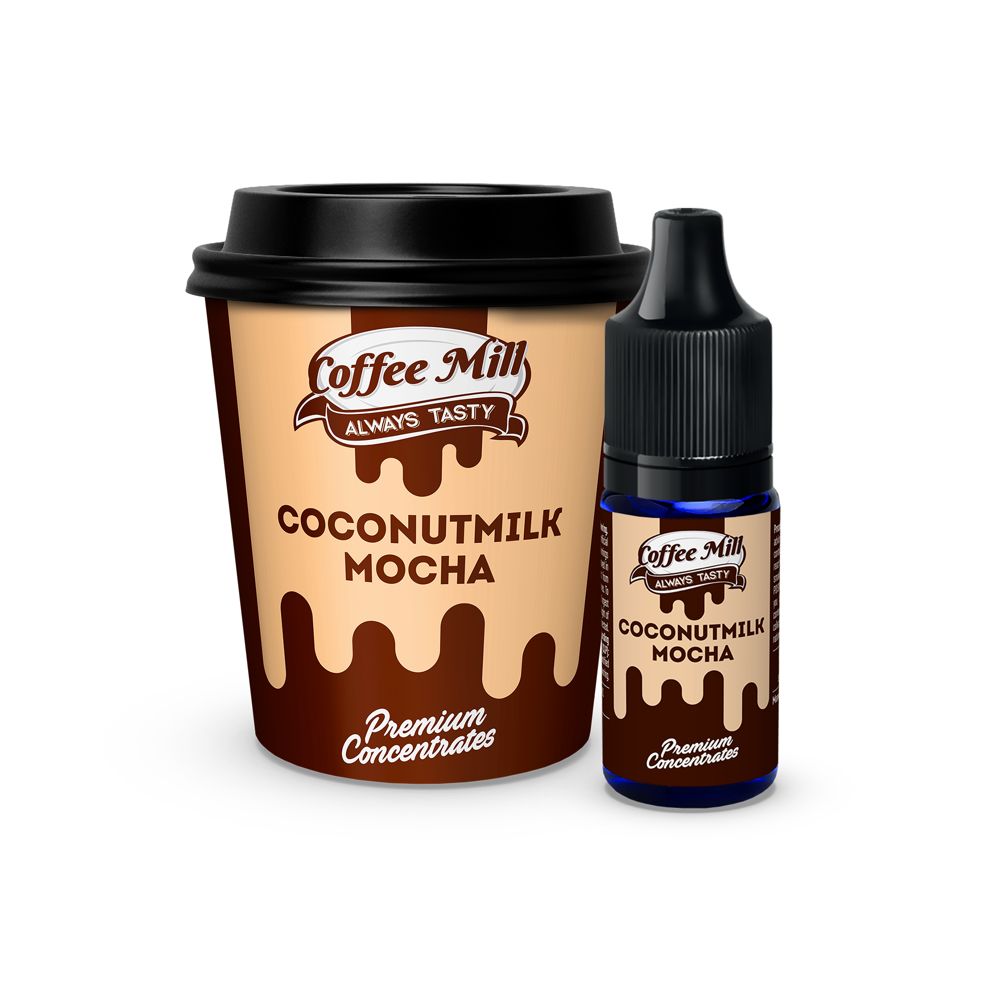 10 ml Coffee Mill - Coconutmilk Mocha