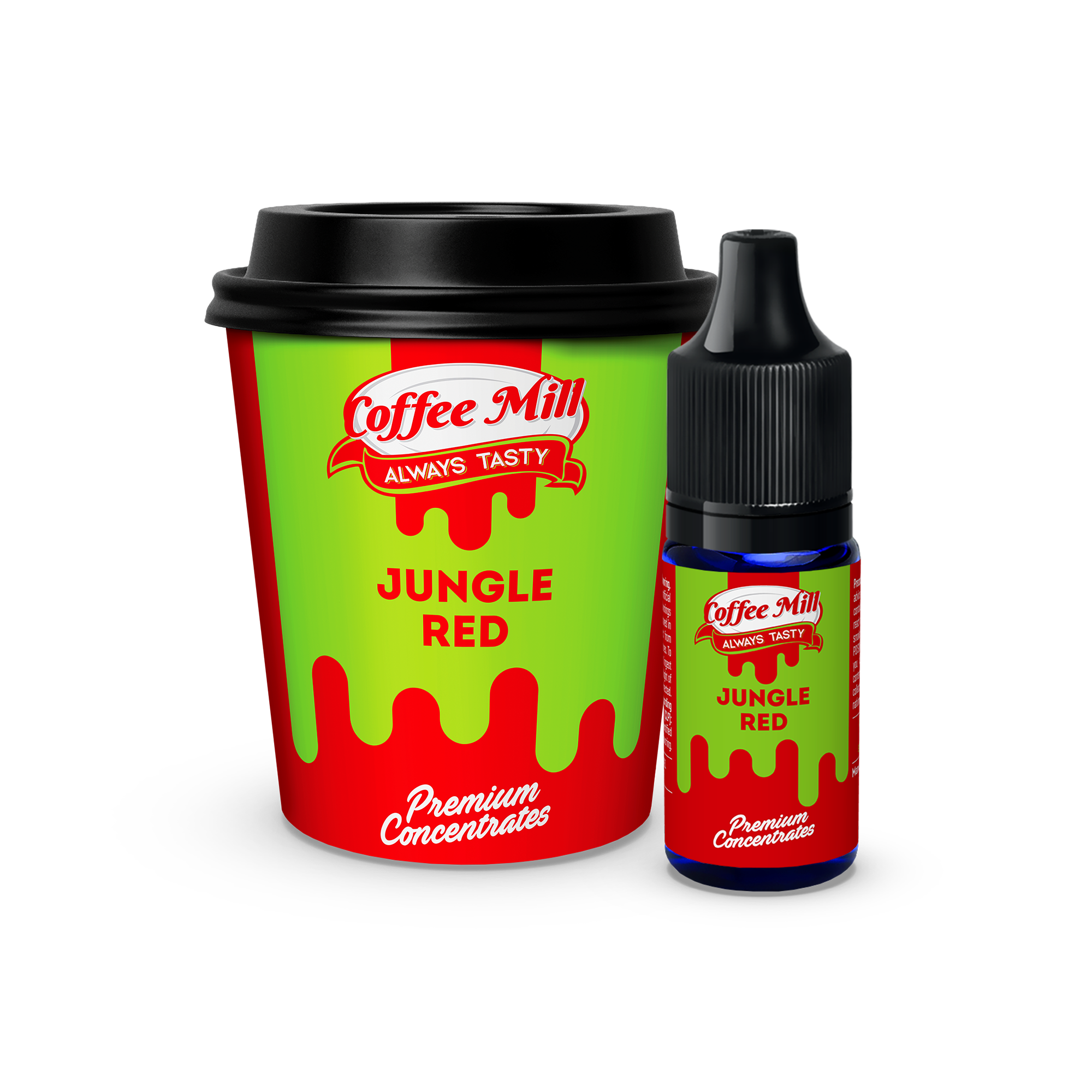 10 ml Coffee Mill - Jungle red