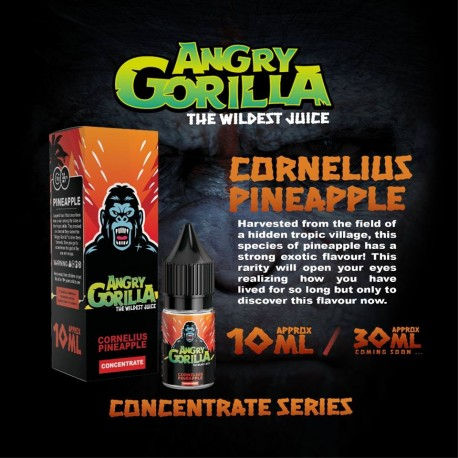 10 ml Angry Gorilla - Cornelius Pineapple