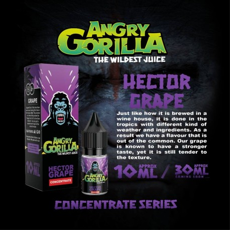 10 ml Angry Gorilla - Hector Grape