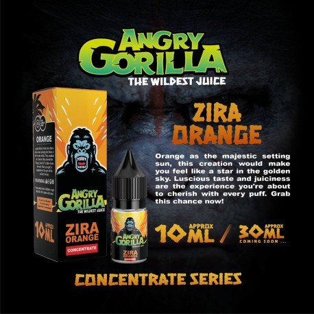 10 ml Angry Gorilla - Zira Orange