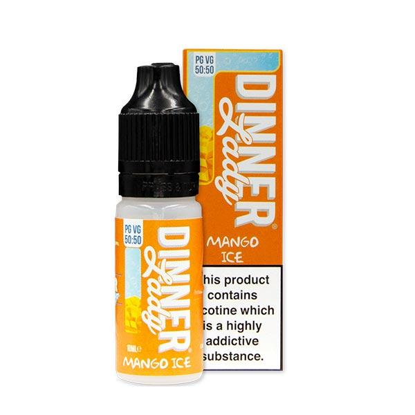 10 ml Dinner Lady 50PG/50VG - Mango Ice 12 mg/ml