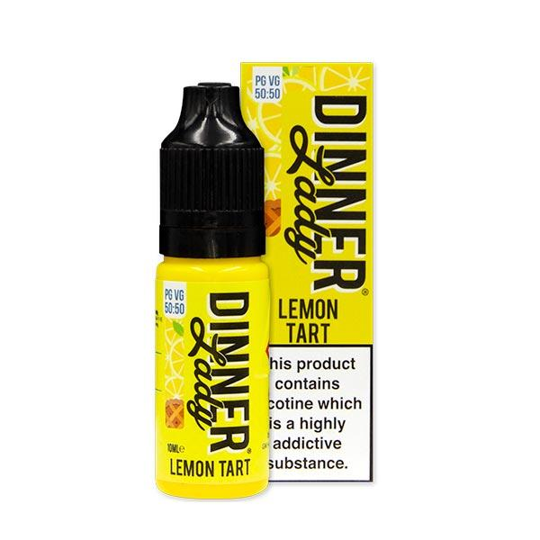 10 ml Dinner Lady 50PG/50VG - Lemon Tart 12 mg/ml