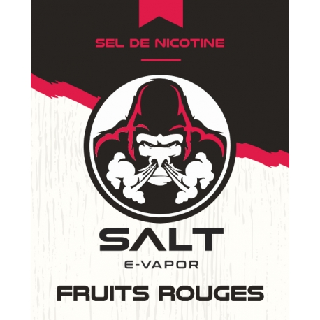 10 ml Salt E-Vapor - Red Fruits 10 mg/ml
