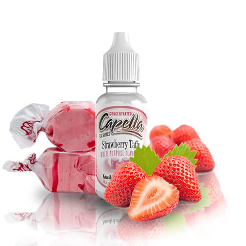 13 ml Capella Strawberry Taffy