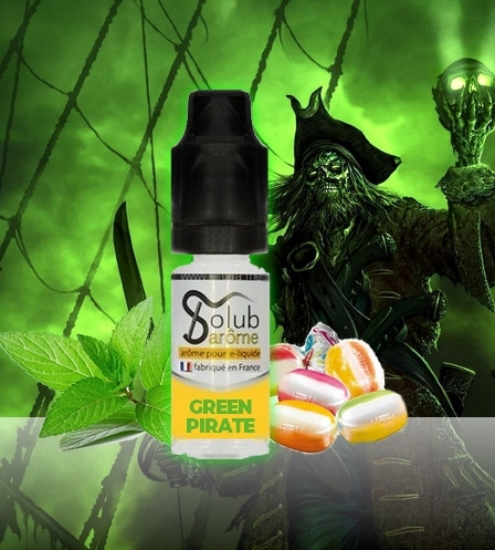 10 ml Solubarome Green pirate