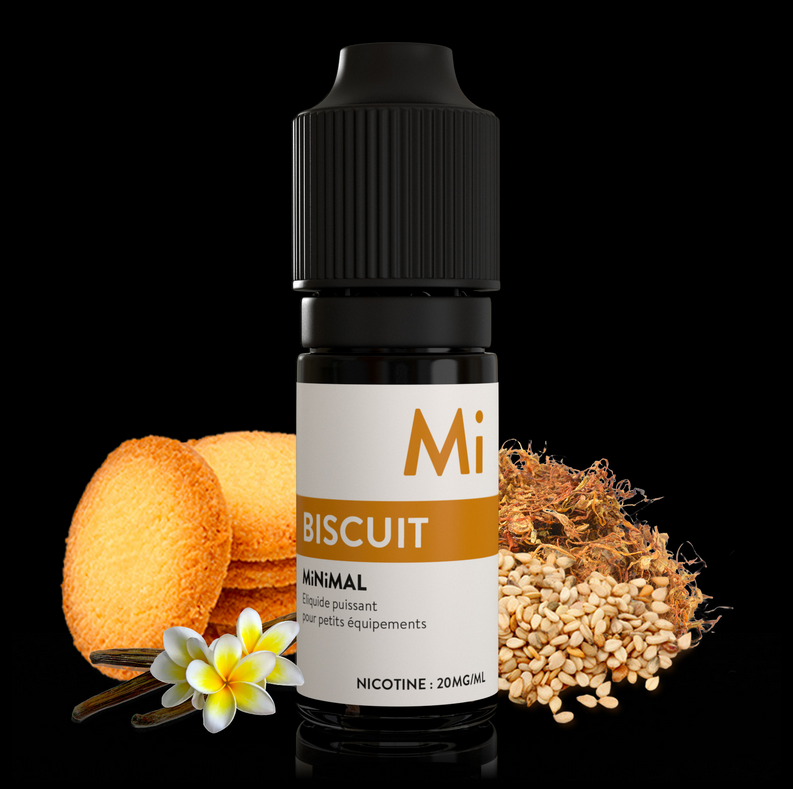 10 ml The Fuu Minimal Nic. Salts - Biscuit 10 mg/ml