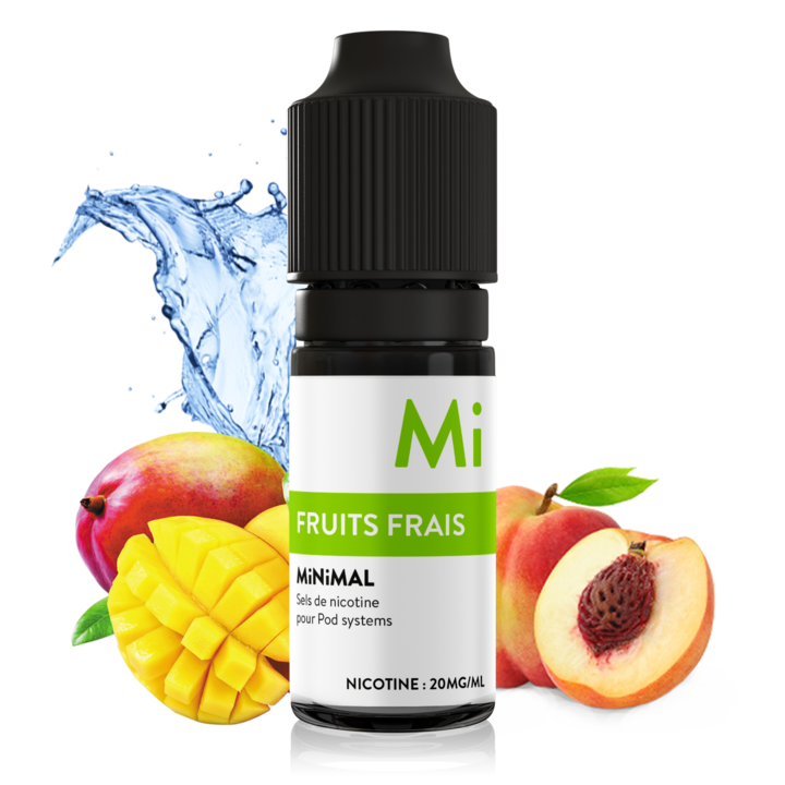 10 ml The Fuu Minimal Nic. Salts - Fruits frais 20 mg/ml