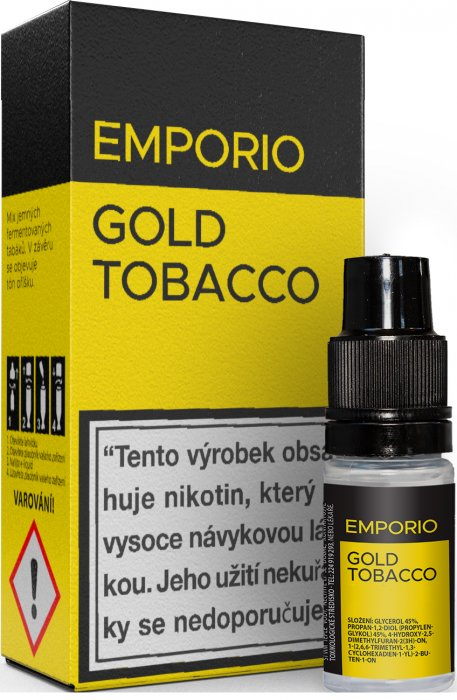 10 ml Emporio - Gold Tobacco 12 mg/ml