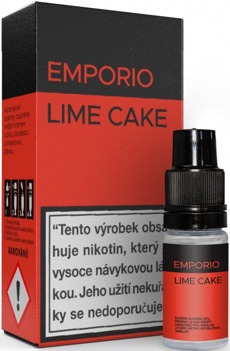 10 ml Emporio - Lime Cake 12 mg/ml
