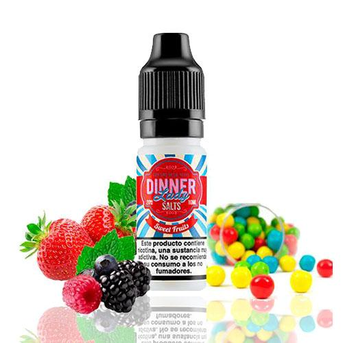 10 ml Dinner Lady Nic. Salts - Sweet Fruits 20 mg/ml