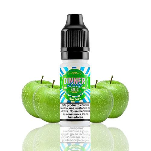 10 ml Dinner Lady Nic. Salts - Apple Sours 20 mg/ml