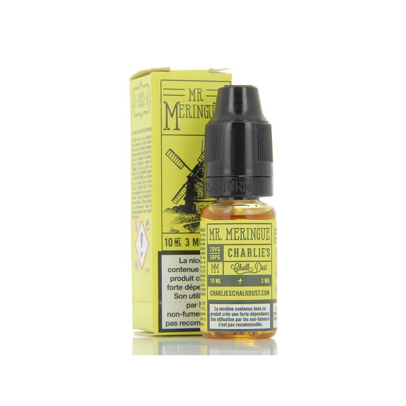10 ml Charlie's Chalk Dust Pacha Mama - Mr. Meringue 3 mg/ml