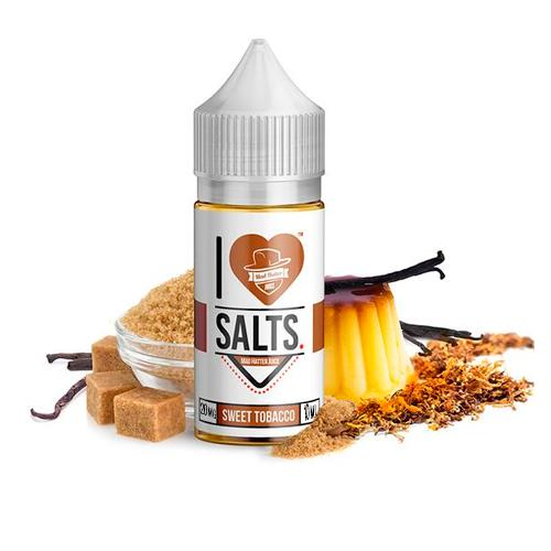 10 ml Mad Hatter I Love Salts -  Sweet Tobacco 20 mg/ml