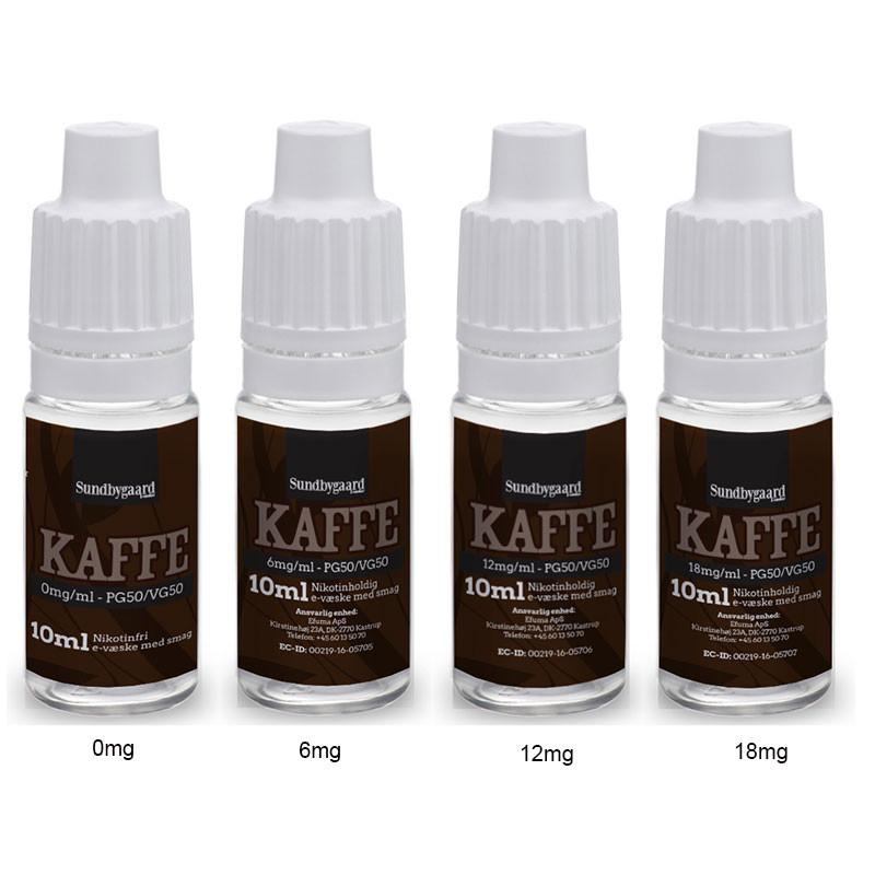 10 ml Sundbygaard - Kaffe 6 mg/ml