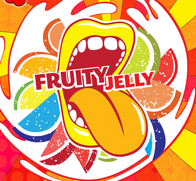 10 ml Big Mouth Fruity Jelly