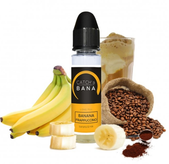 10 ml Imperia Catch'a Bana S&V - Banana Frappuccino