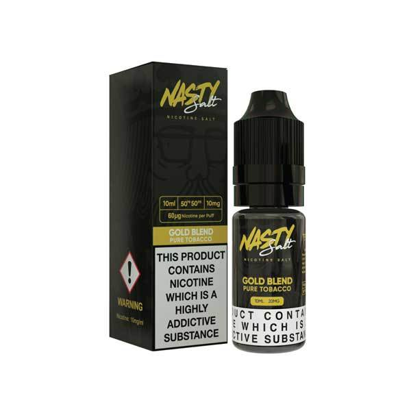10 ml Nasty Salt - Tobacco Gold Blend 20 mg/ml