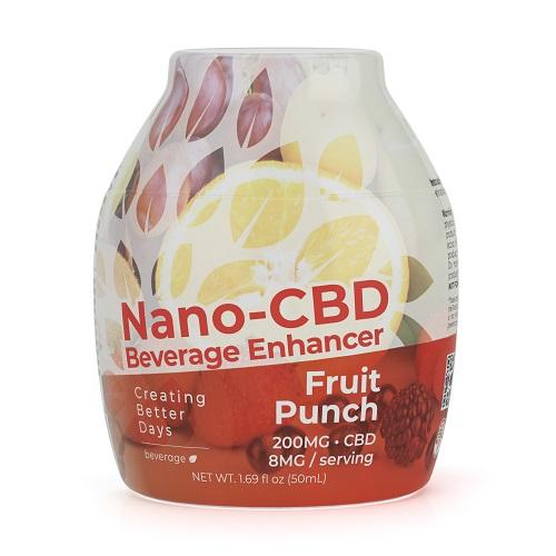 50 ml Creating Better Days CBD Beverage Enhancer 200mg - Fruit Punch