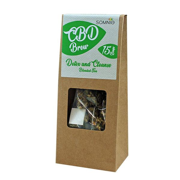 Somnio CBD Brew Blended Tea 15ks 30g - Relaxation and Sleep