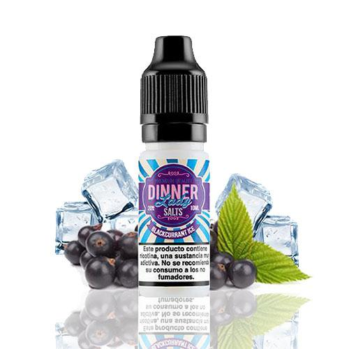 10 ml Dinner Lady Nic. Salts - Blackcurrant Ice 20 mg/ml