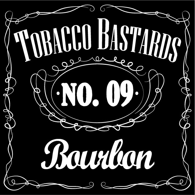 10 ml Flavormonks Tobacco Bastards - No. 09 Bourbon