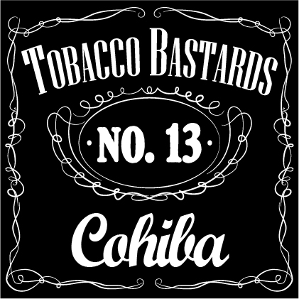 10 ml Flavormonks Tobacco Bastards - No. 13 Cohiba