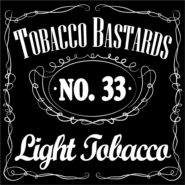 10 ml Flavormonks Tobacco Bastards - No. 33 Light Tobacco